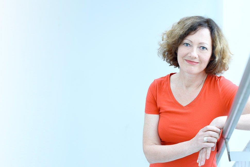 Claudia Germer von Aufwärts - Marketing für erfolgreiche Coaches.